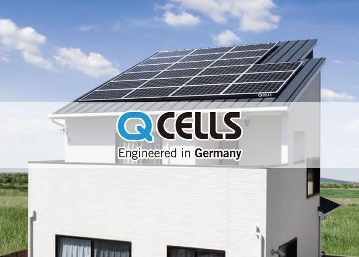 Qセルズ 6.39KW 太陽光発電システム