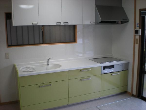 門司区 システムキッチン+オール電化+洗面化粧台
