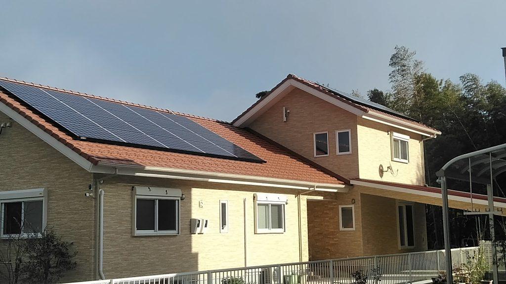 直方市 太陽光発電システム(産業用)